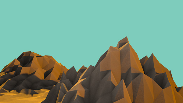 lowpoly_mountains